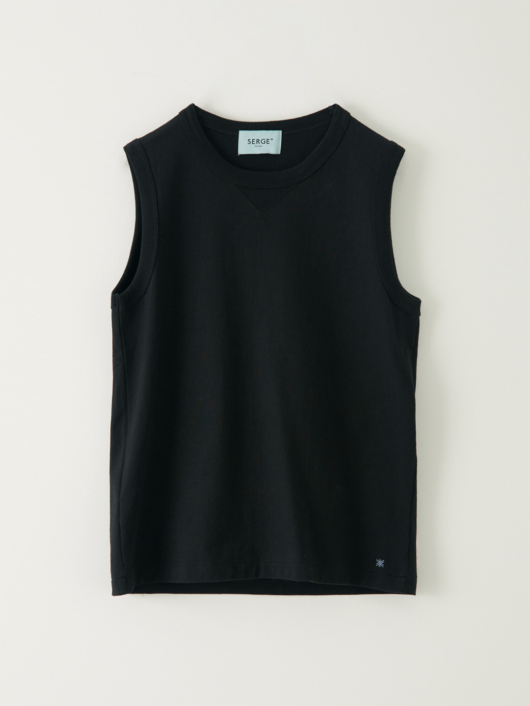 Military SLeeve Less-T - Black