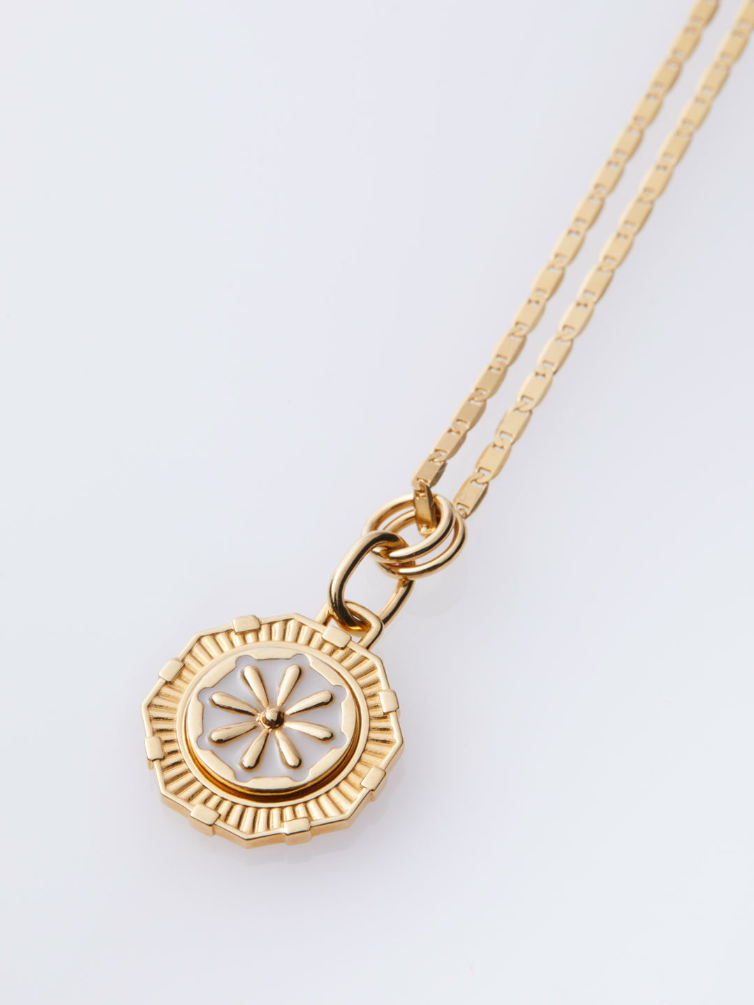 Journey Coin Necklace - Gold