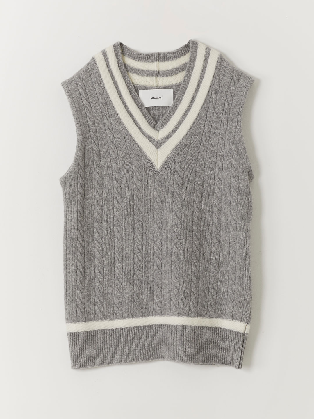New Traditional Tilden Knit  - Grey