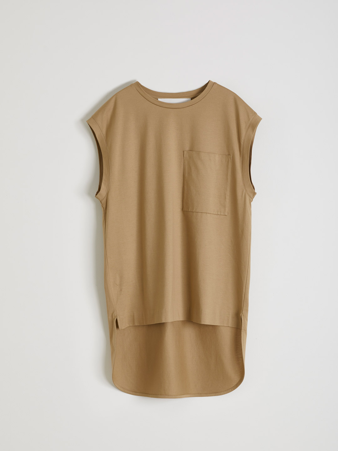 French Sleeve T-shirt - Beige
