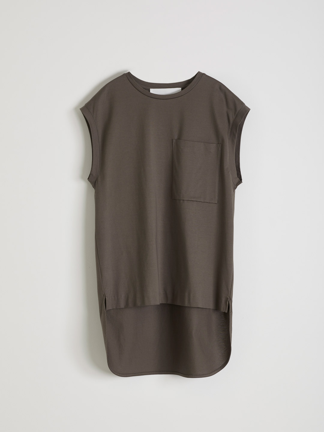 French Sleeve T-shirt - Brown