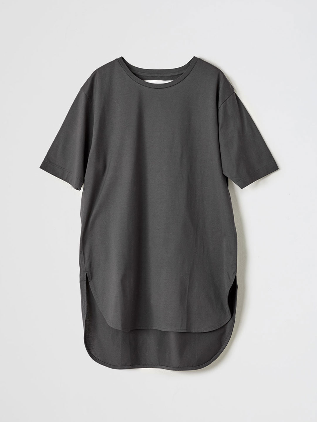 Jersey T-Shirt  - Charcoal Grey