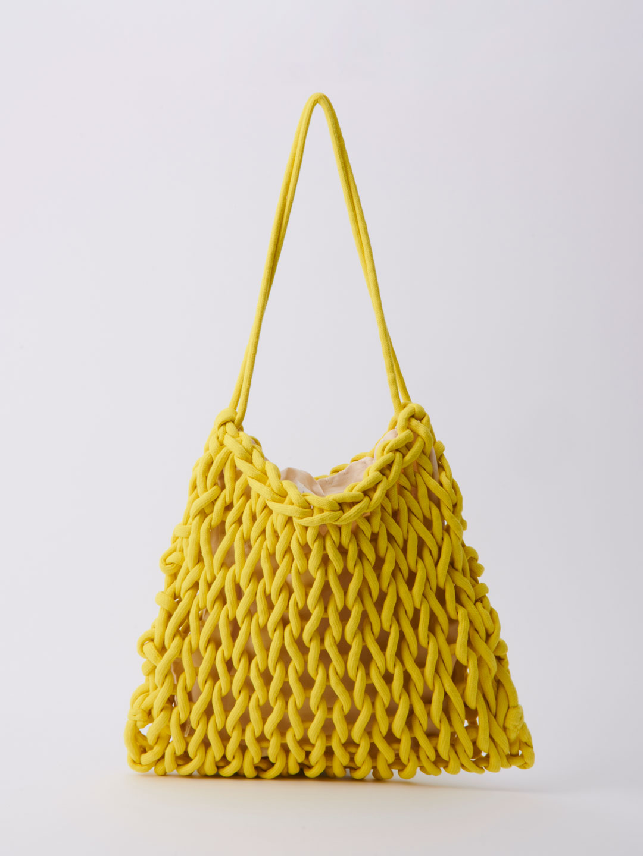 Sara Shoulder Bag - Yellow
