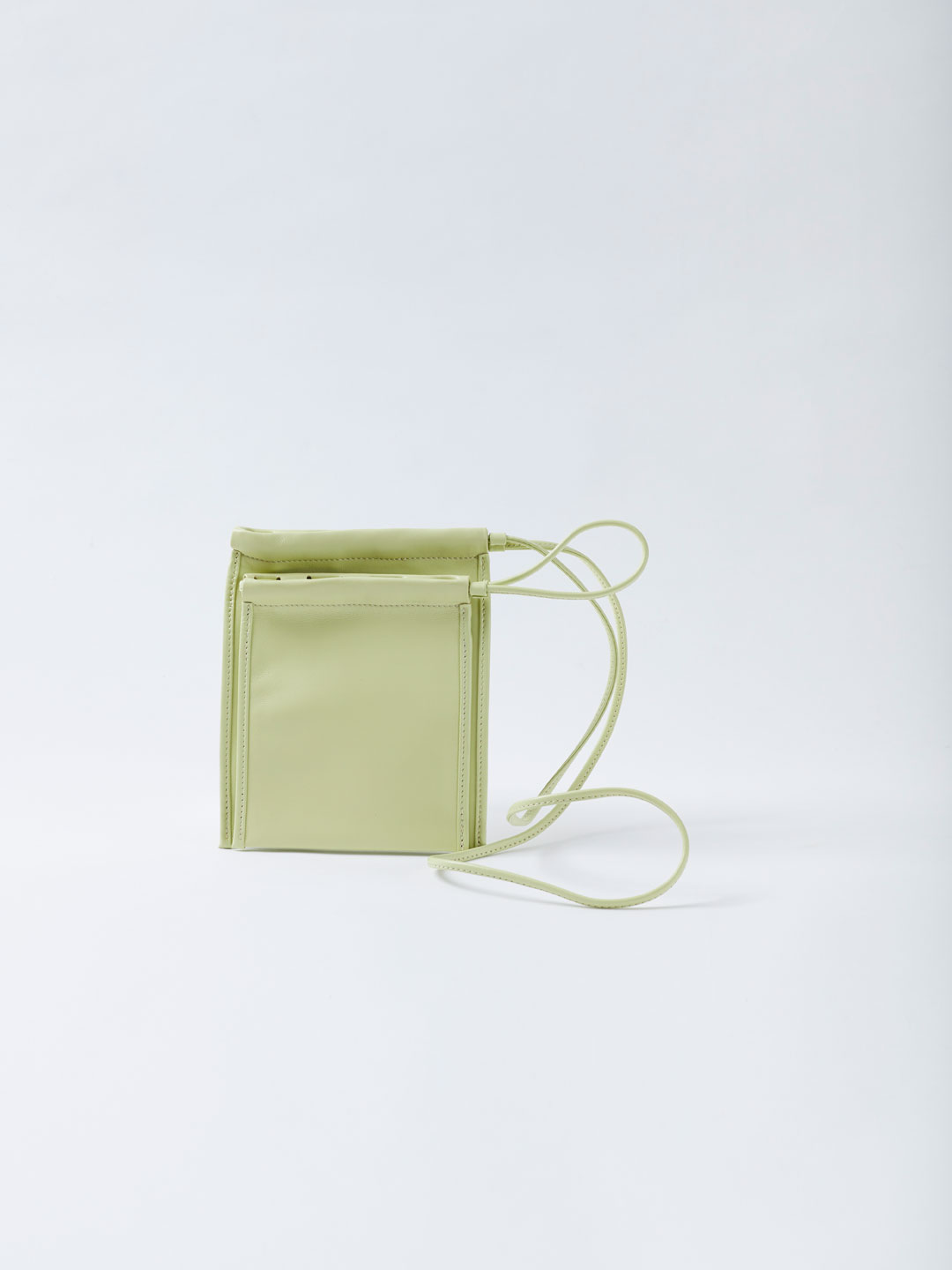 Scrunch Small Pouch - Light Green