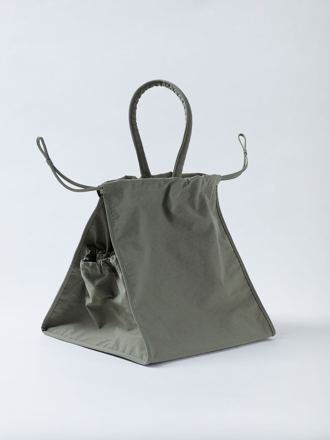 Scrunch Cube Bag - Sage