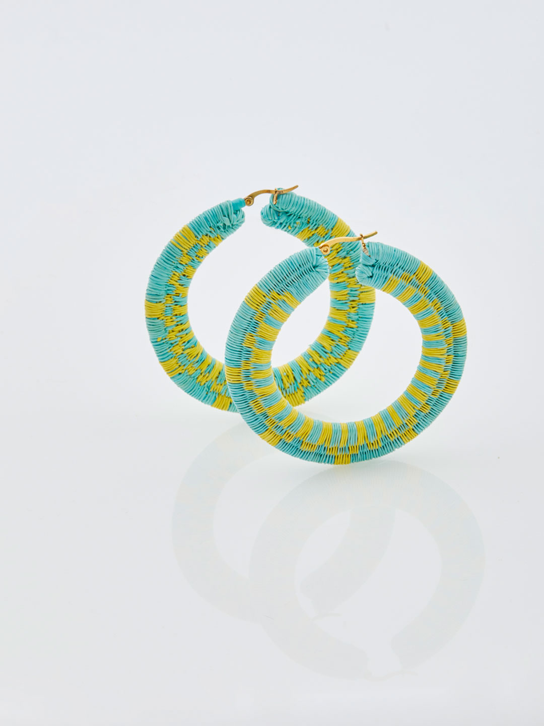Isabel Hoops - Aqua Blue