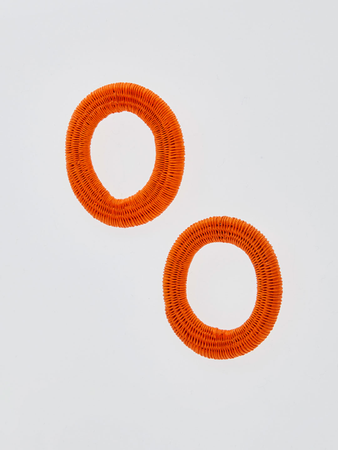 Olivia Small Hoops - Orange