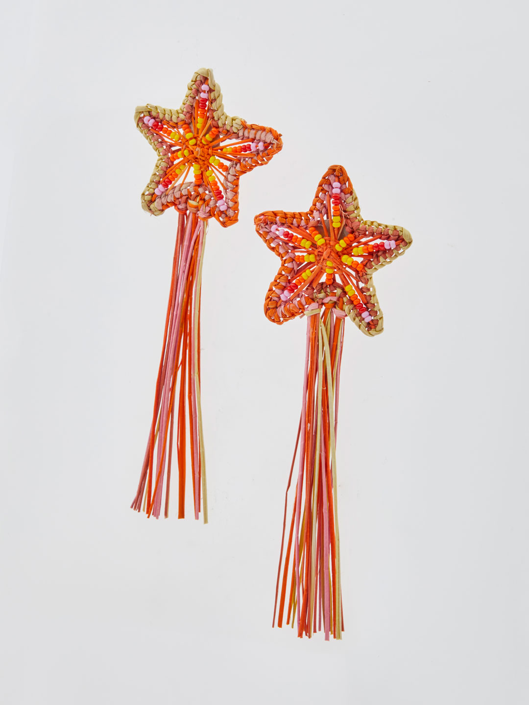 Asteria Shooting Stars Pierced Earrings - Multi