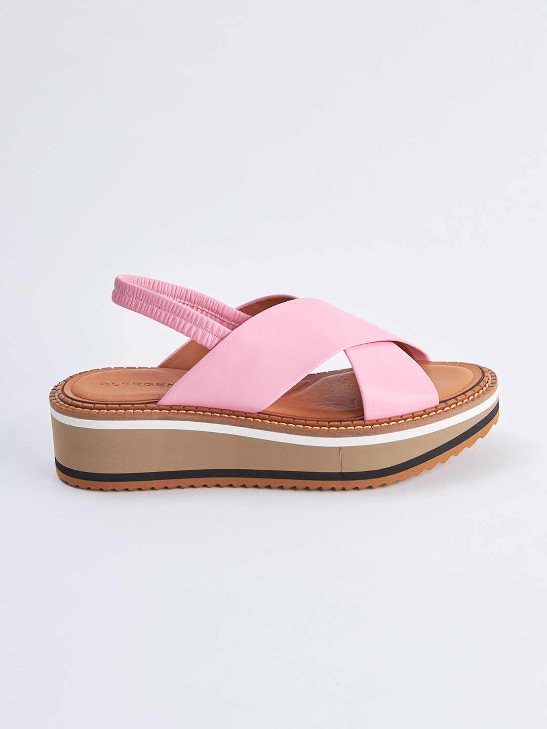 FREEDOM3 Cross Strap Sandals - Pink