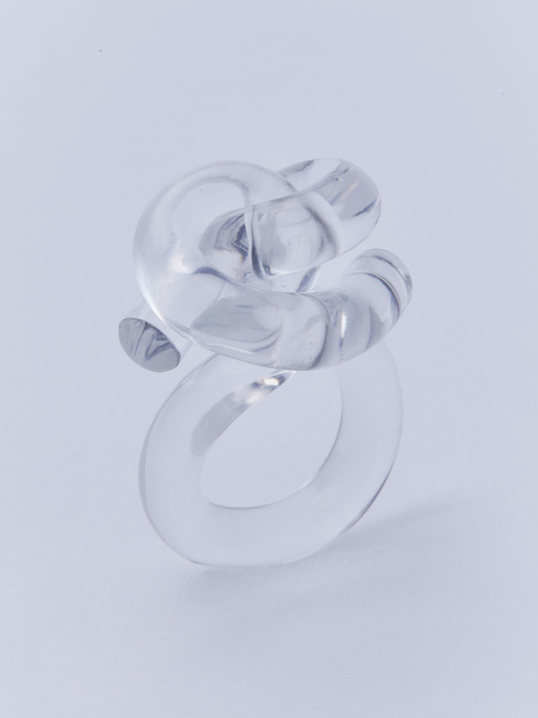 Knot Ring - Clear