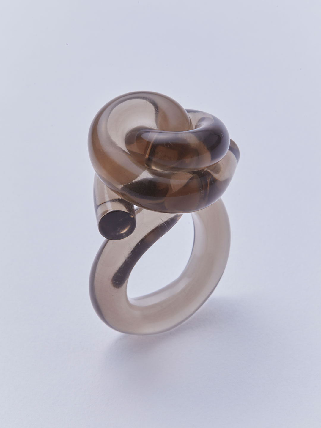 Knot Ring - Grey