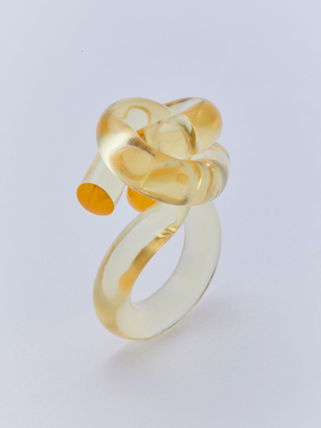 Knot Ring - Yellow