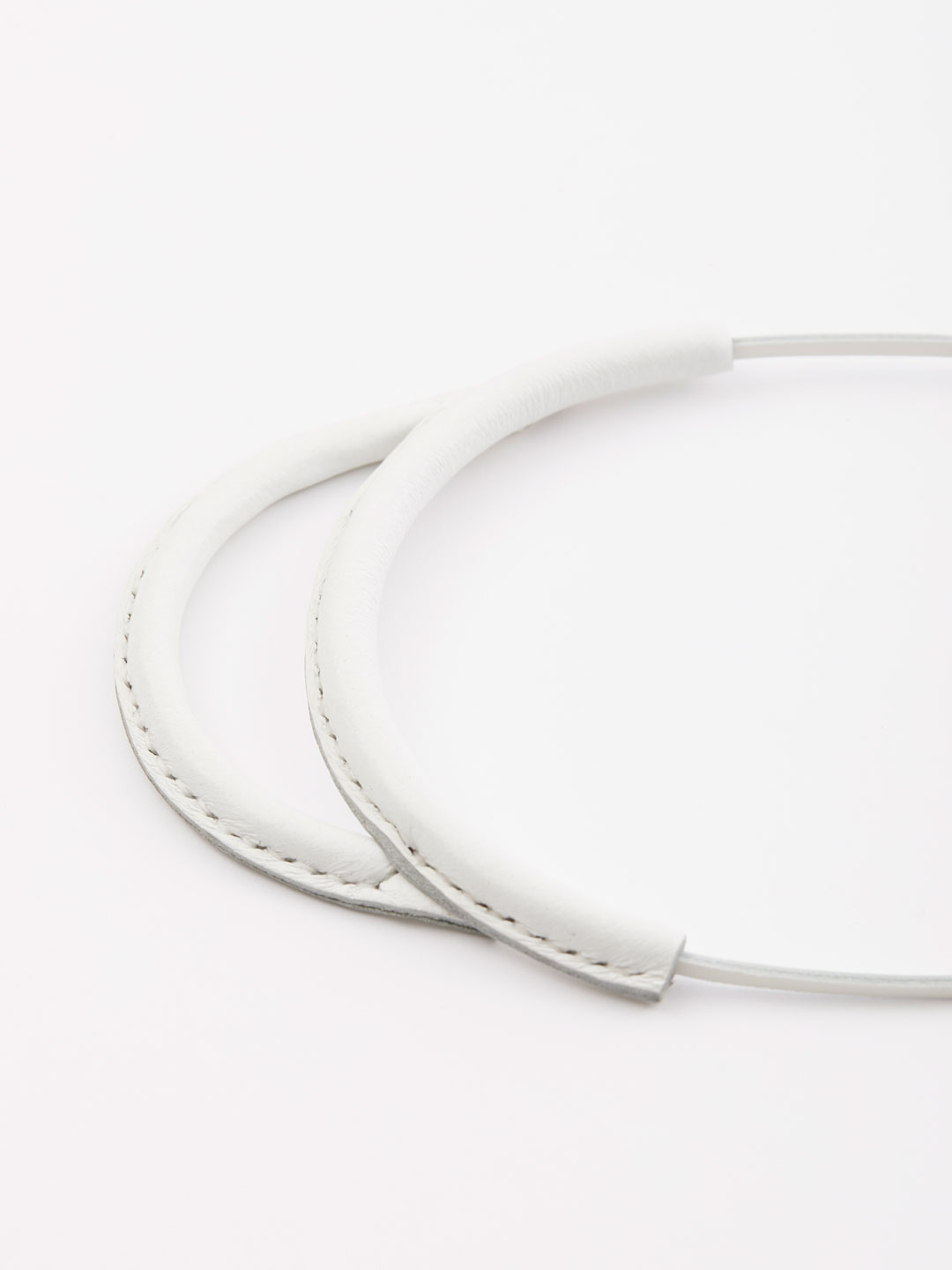 Arc Necklace - White