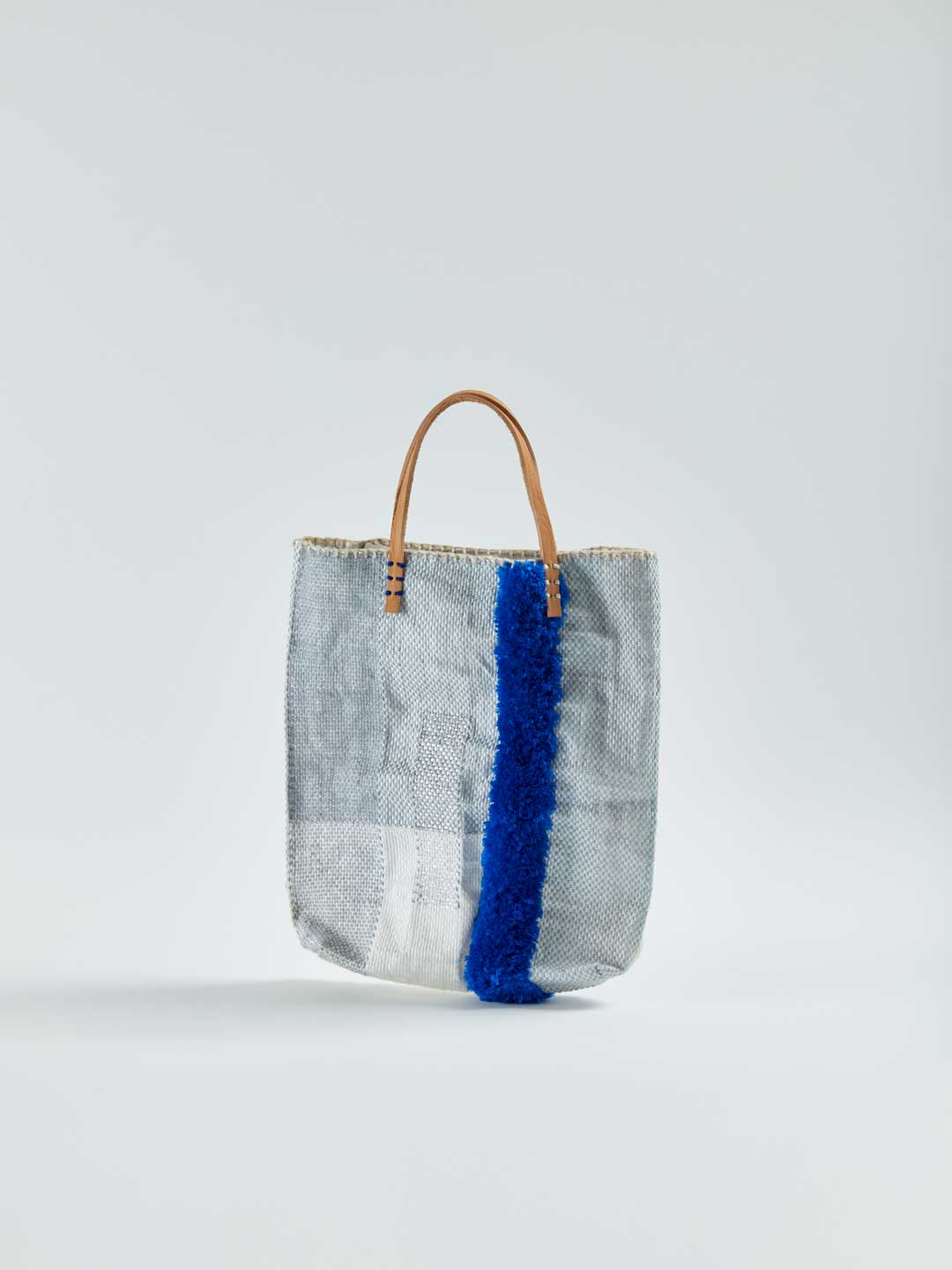 Recycled Food Tote Bag - Blue