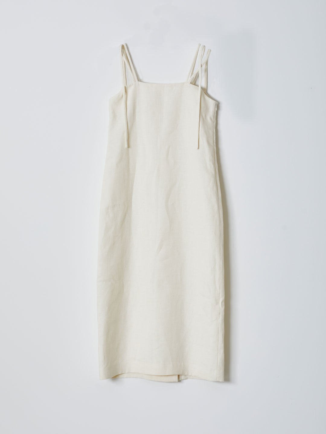Shoulder Tied Onepiece - Ivory