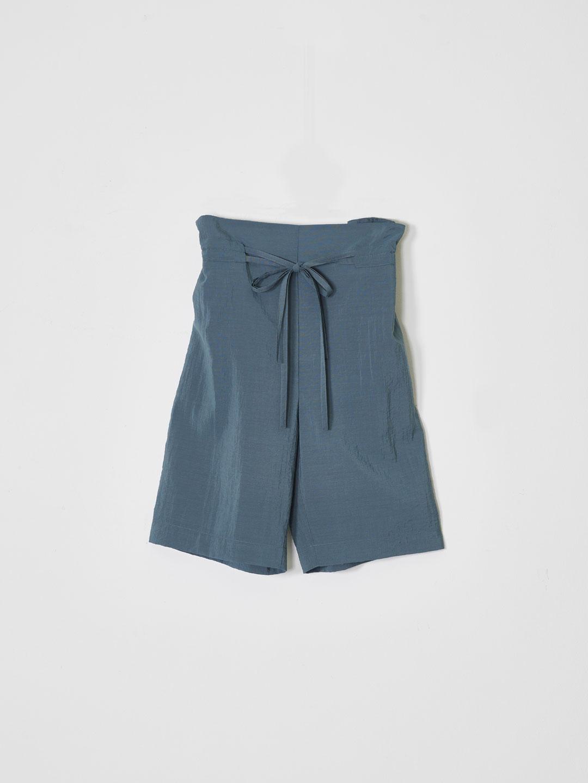 Double String Short Pants - Blue