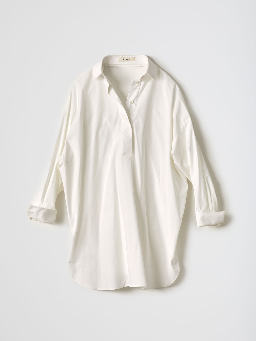 FIORELLA / Tie Back Oversized Shirt - White