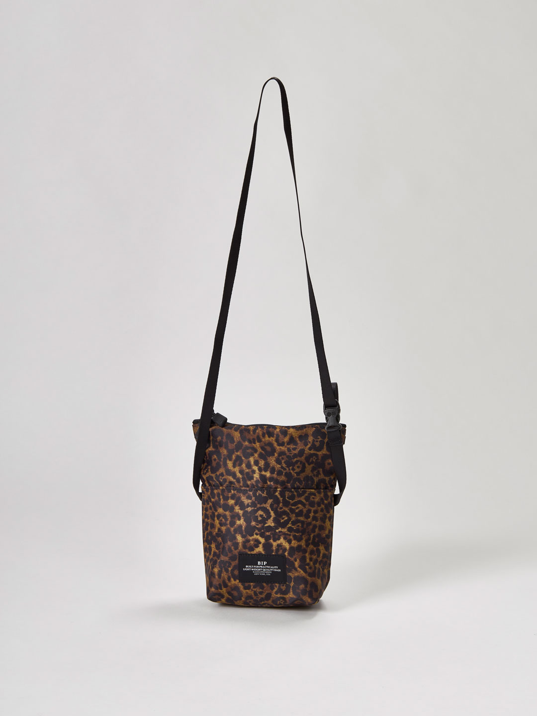 Folded Belt Bag - Leopard