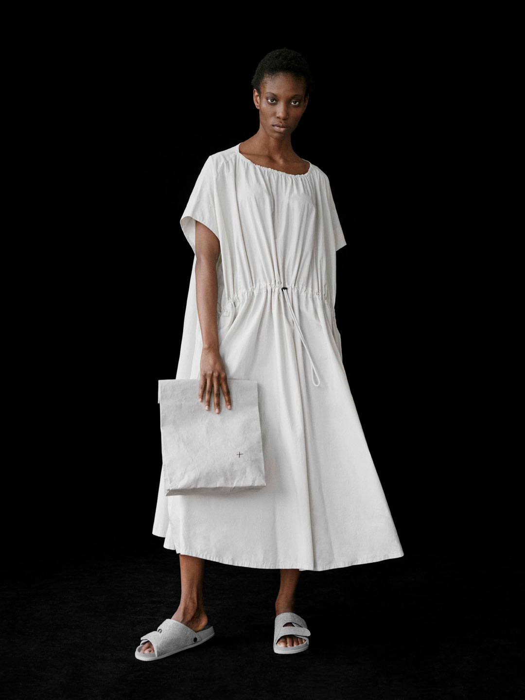 The Mudlark Dress / Stone - Ivory