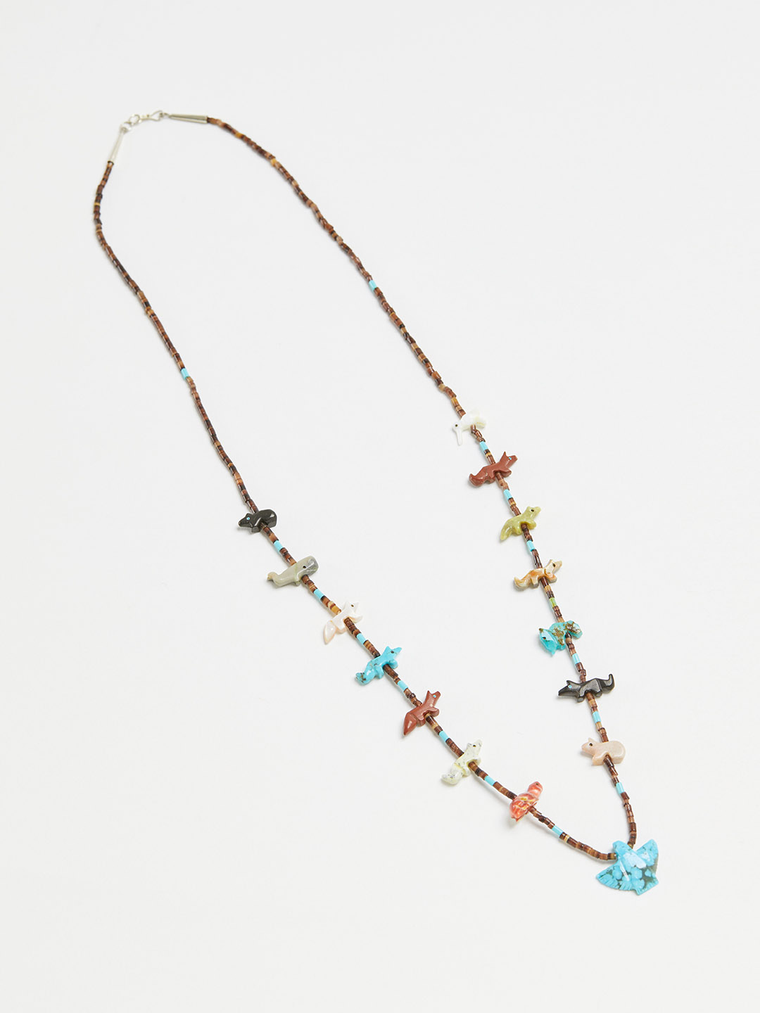 Multi Color Animal Necklace - 69cm