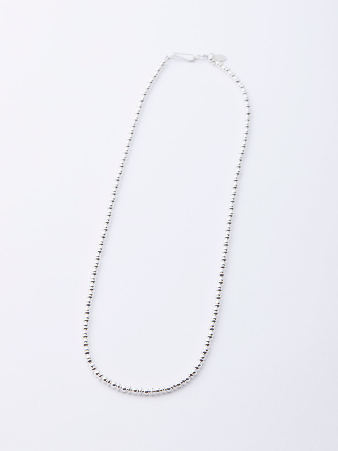 3mm Ball Chain Necklace 50cm - Silver