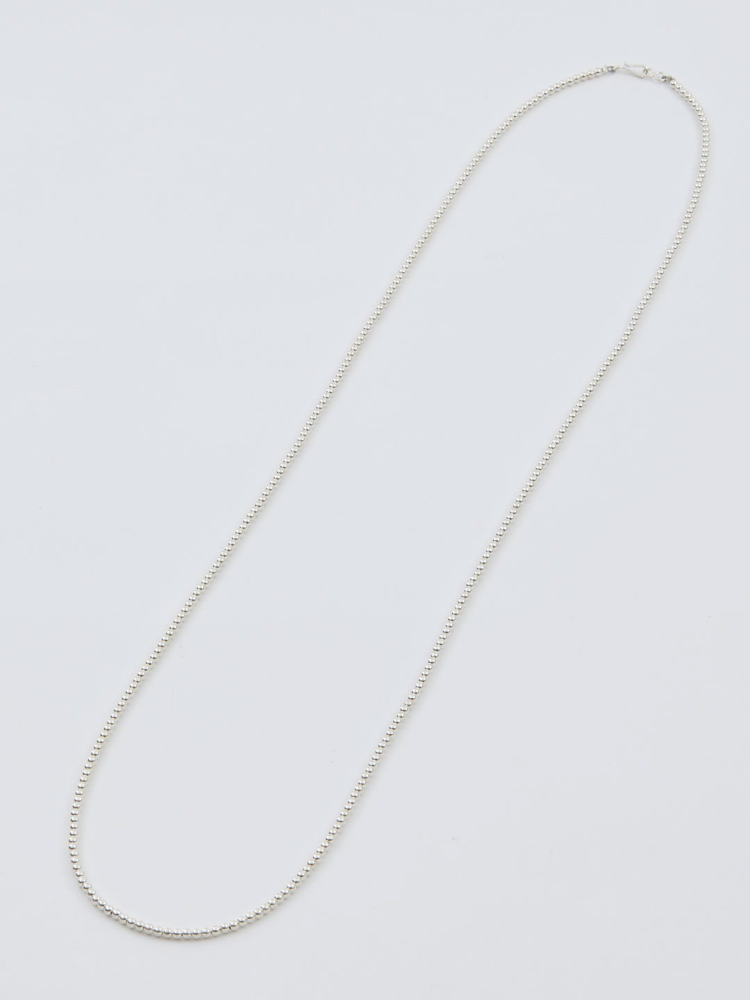3mm Ball Chain Necklace 92cm  - Silver
