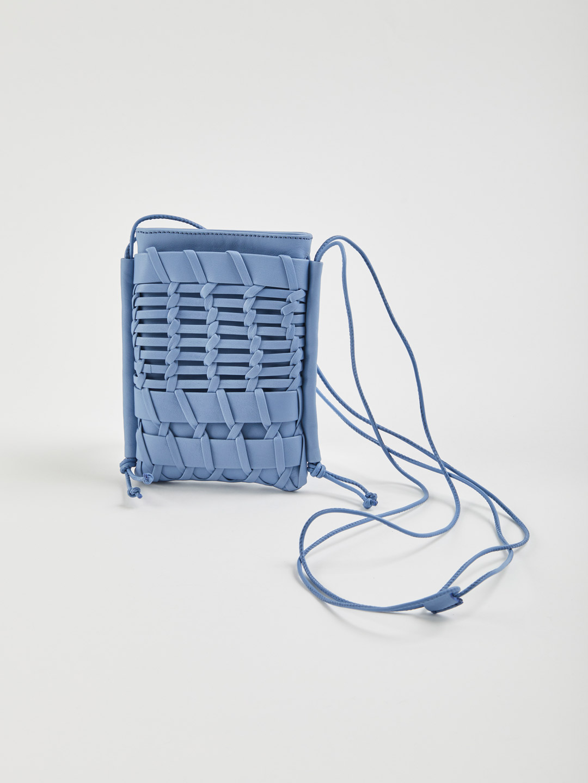 Trena Mini Shoulder Slim Bag - Blue