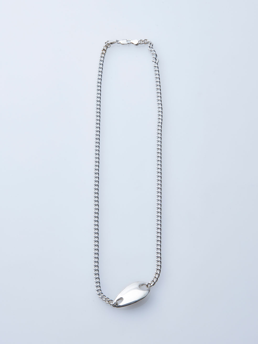 ID Necklace - Silver