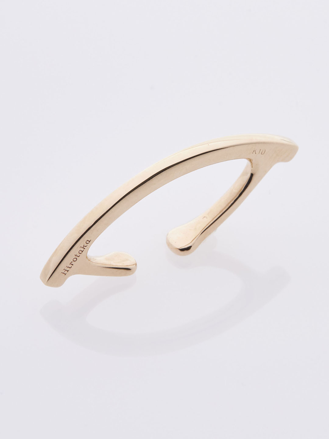 Bow Ear Cuff - Yellow Gold