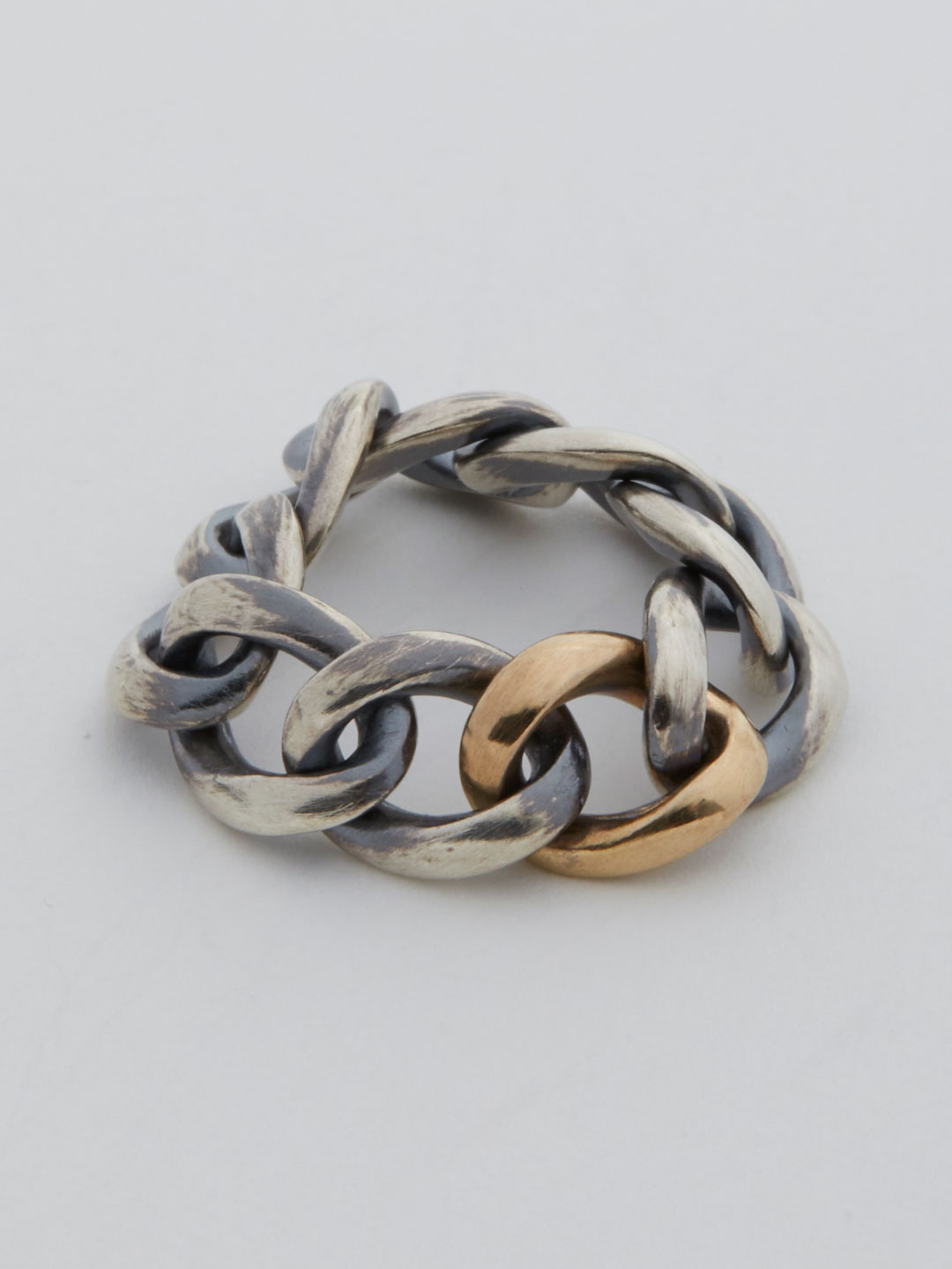 Humete Chain Ring 09  - Silver