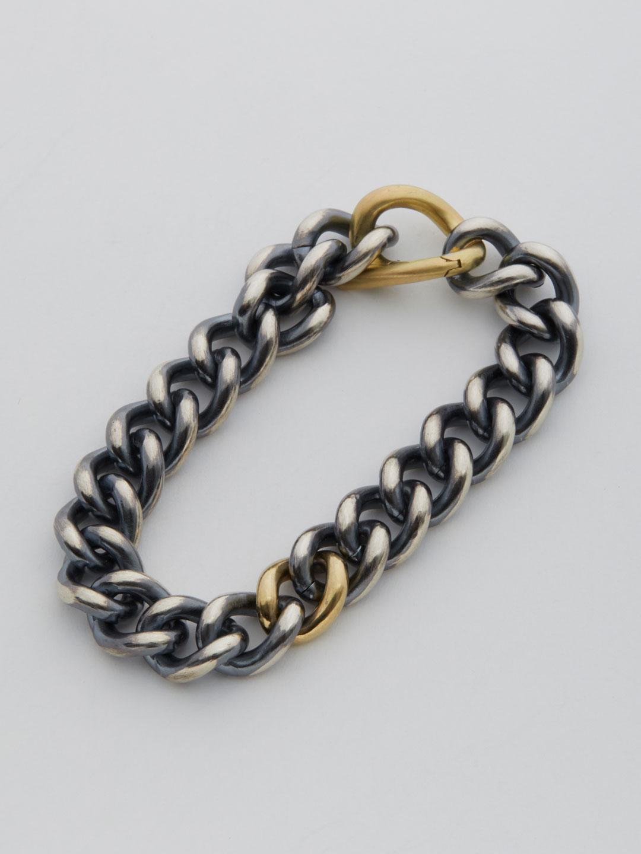 Humete Chain Bracelet 11 L SS - Silver