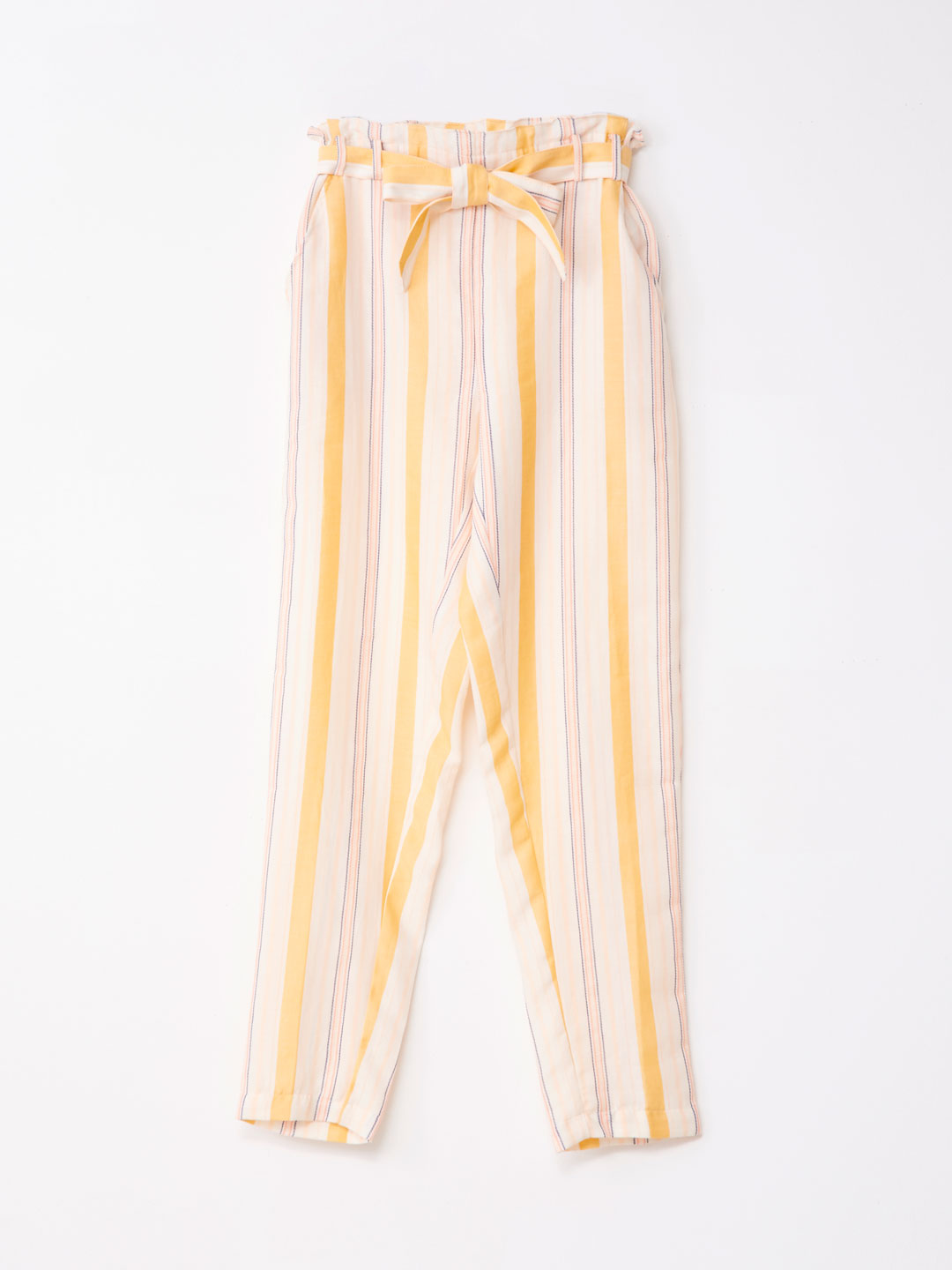 High Waisted Pant - Yellow