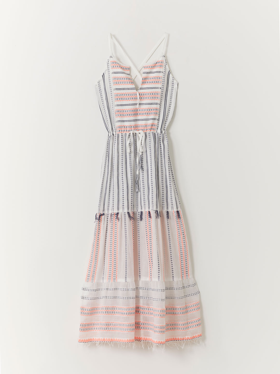 Long Halter Dress - Pink