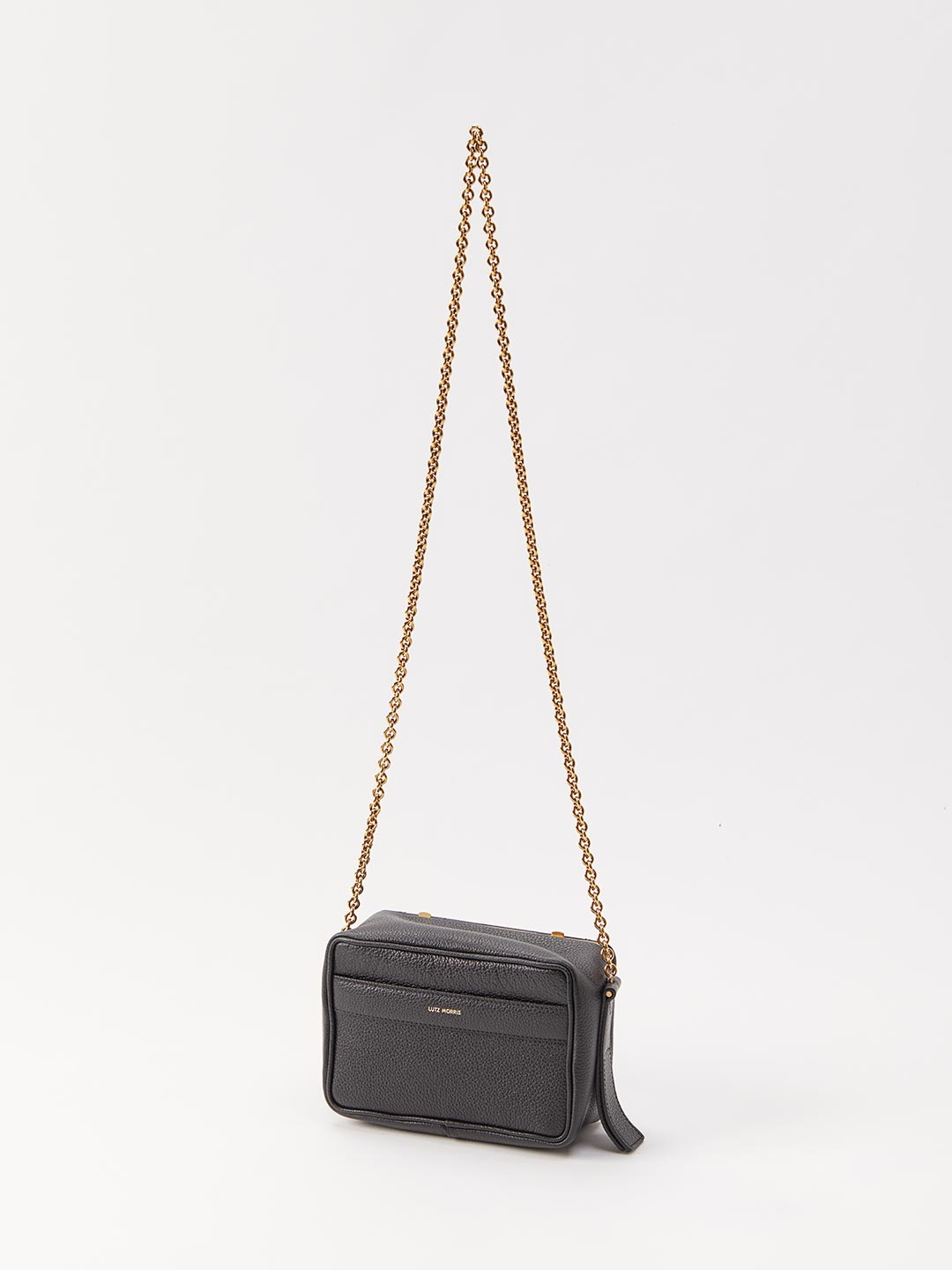 Malloy Medium Cross Body Chain Bag - Black
