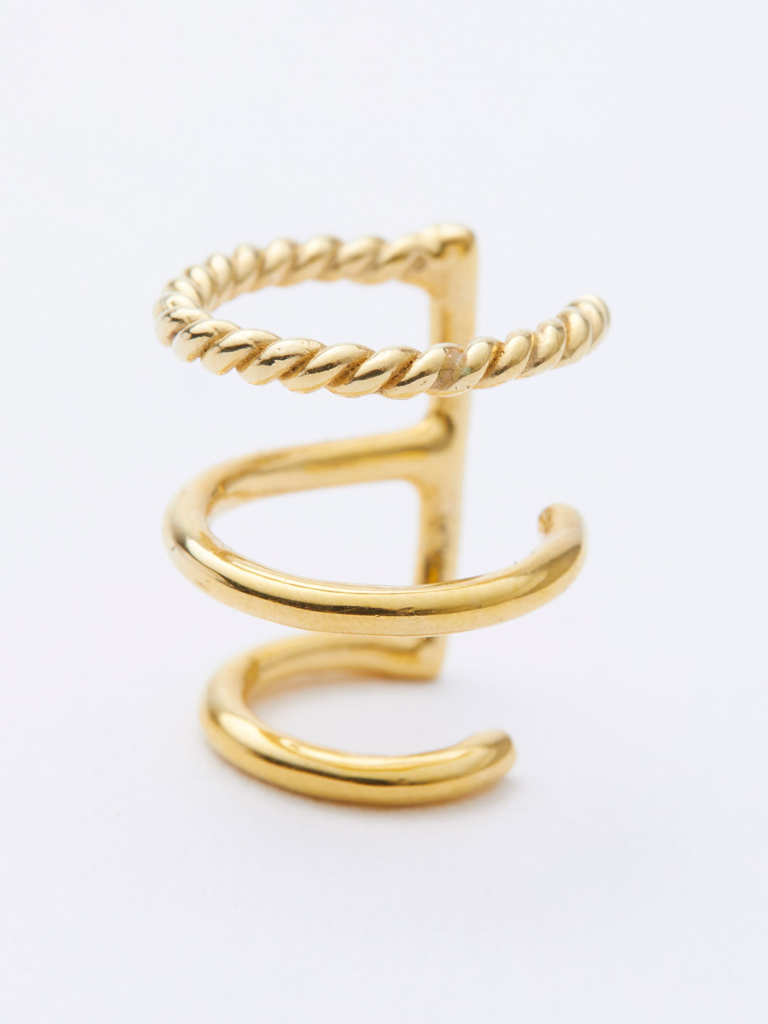 Sofia Ear Cuff  - Yellow Gold