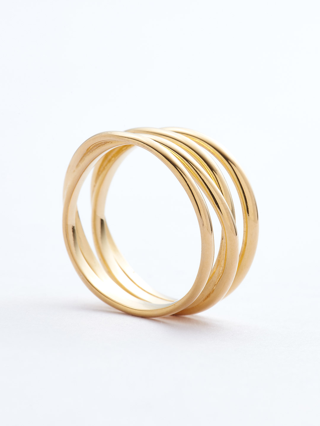 Auguste Wrap Ring - Gold High Polish