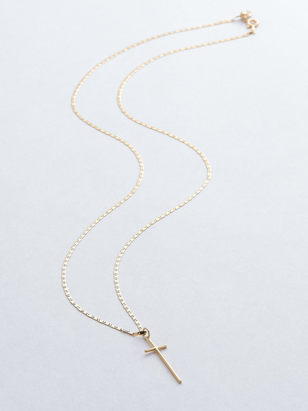 George Necklace - Gold High Polish