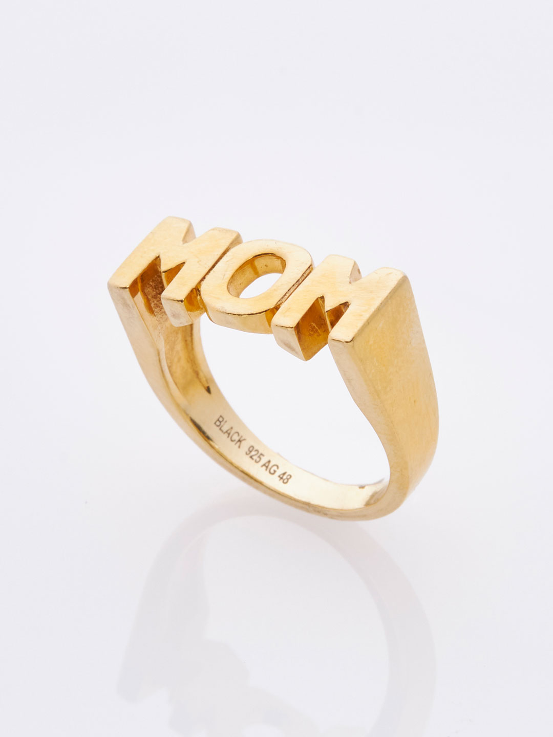 Mom Ring - Yellow Gold