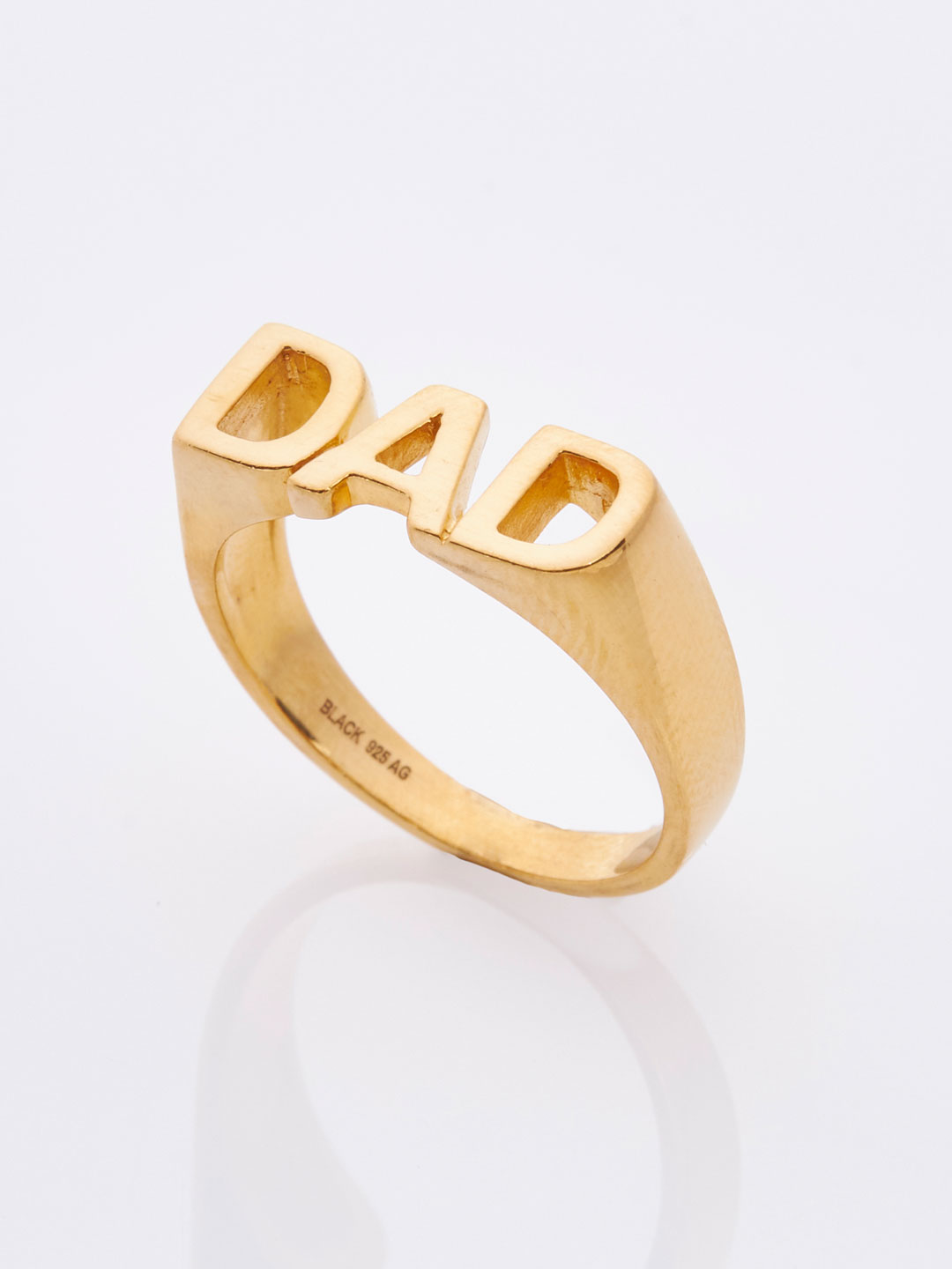 Dad Ring - Yellow Gold