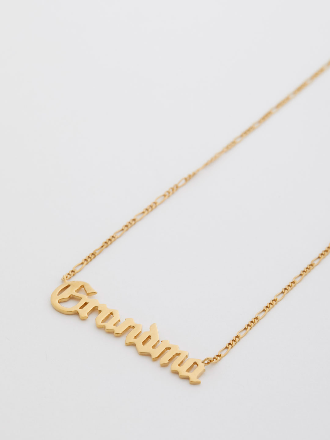 Grandma Necklace  - Yellow Gold