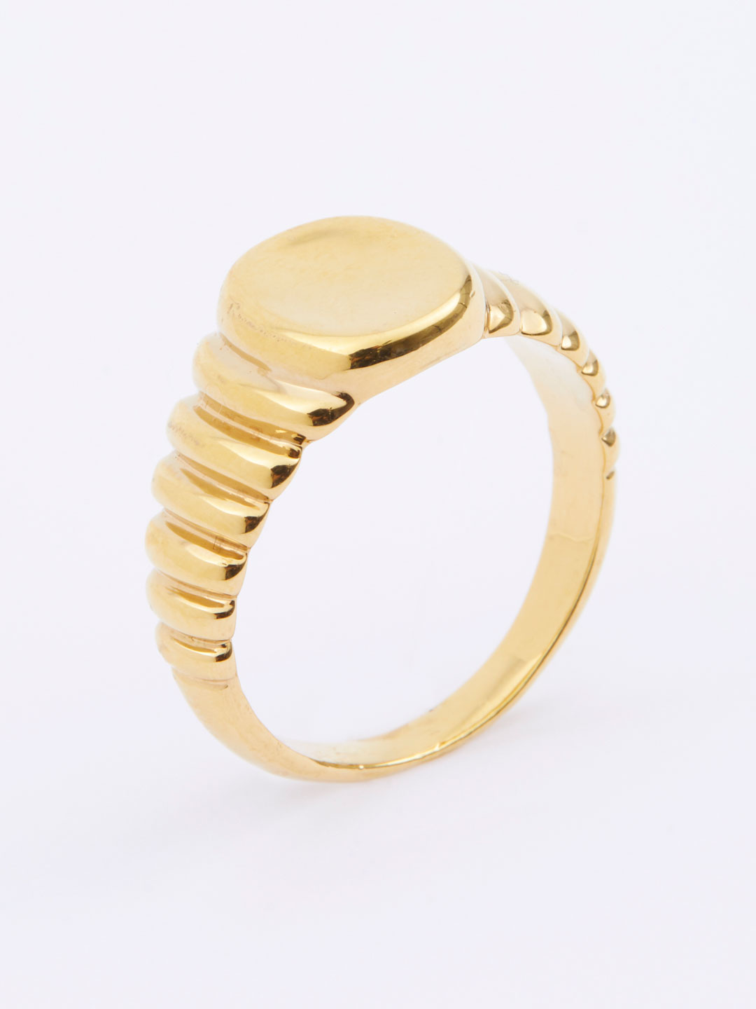 Wave Ring  - Yellow Gold