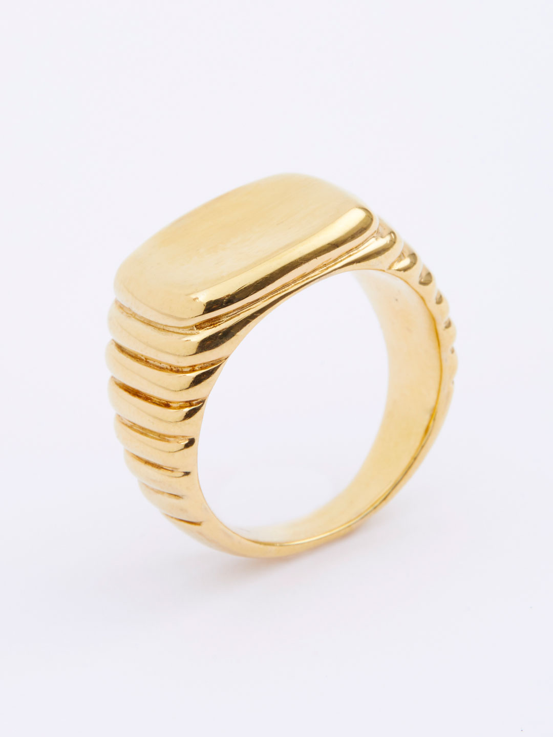 Shore Ring  - Yellow Gold