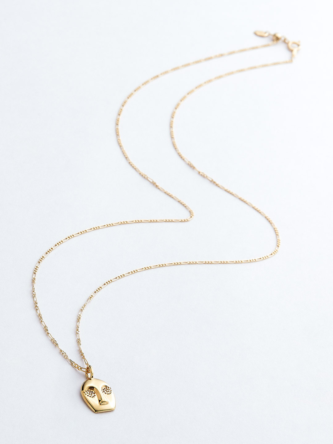 Man Ray Necklace - Gold High Polish