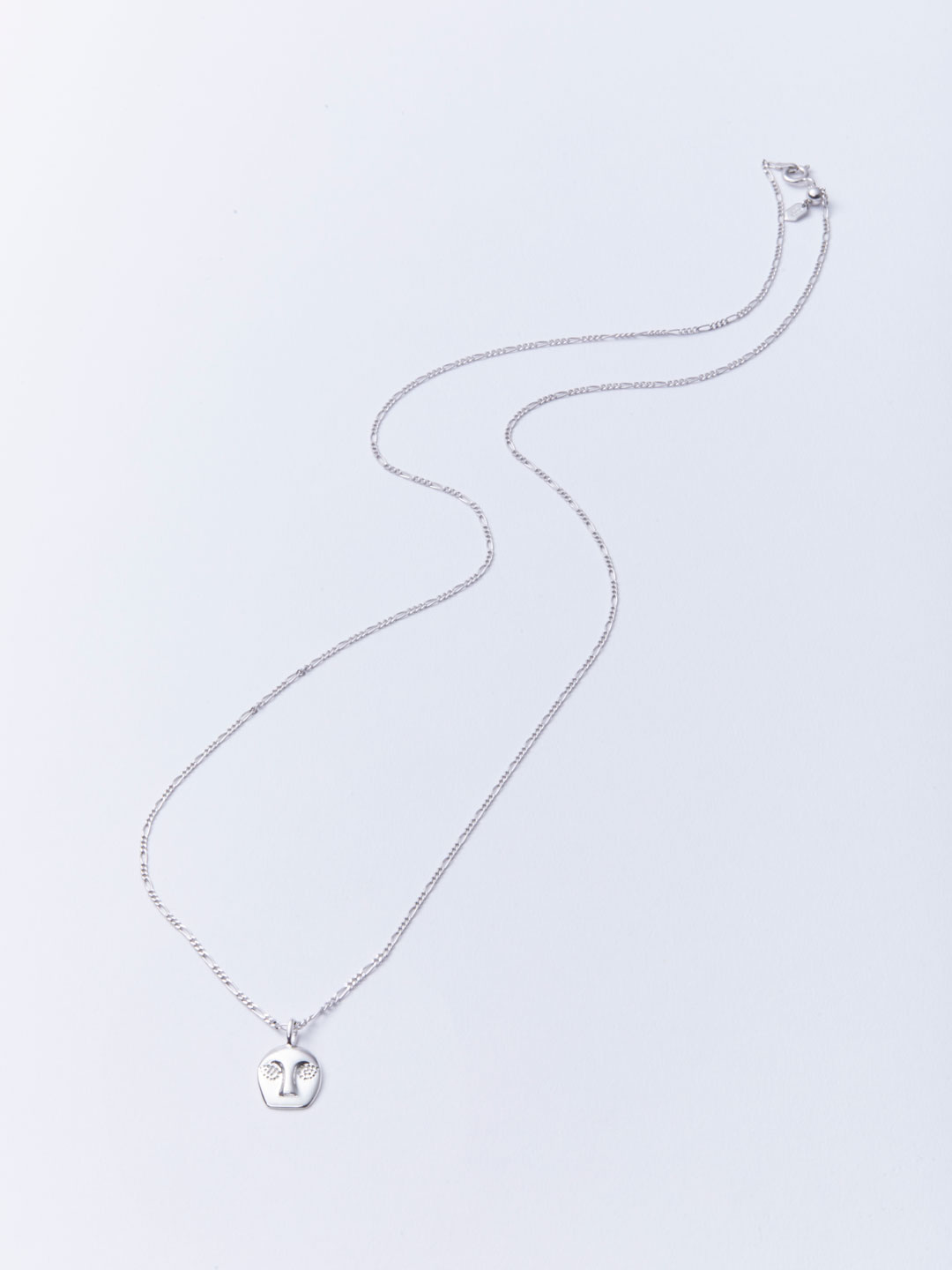 Man Ray Necklace - Silver