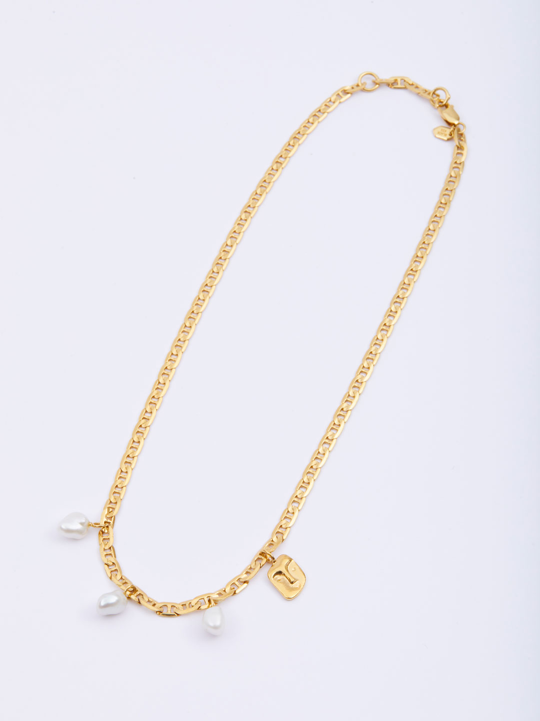 Crew Necklace  - Yellow Gold