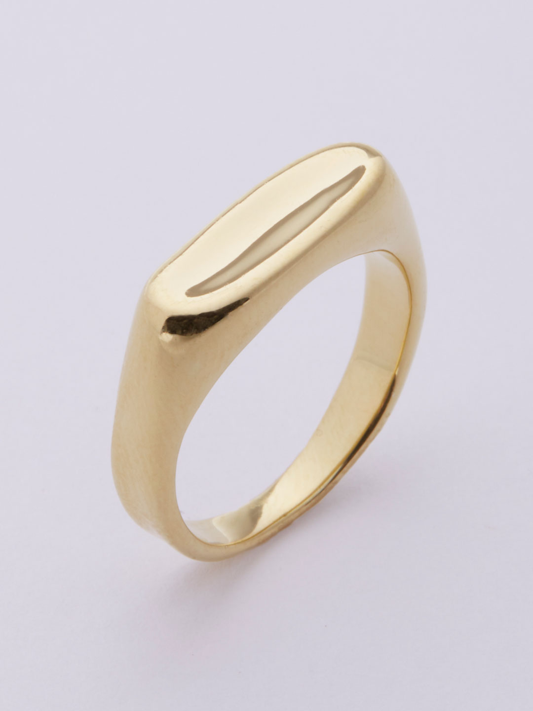 Papaya Ring  - Yellow Gold