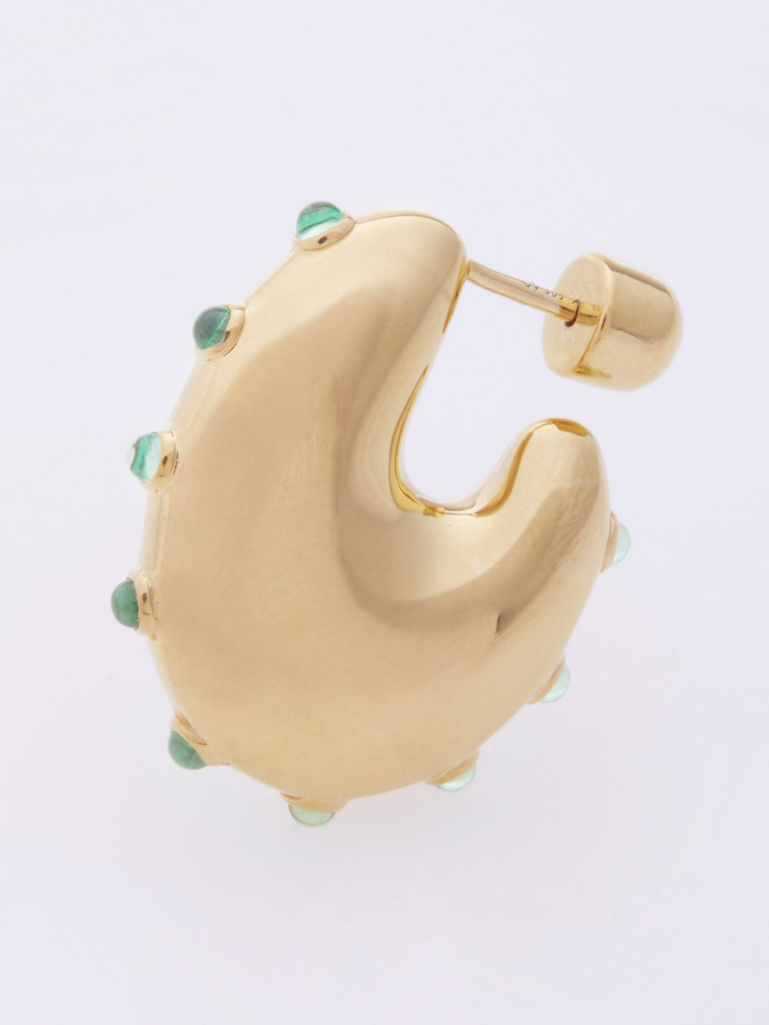 Caramella Mint Pierced Earring - Gold