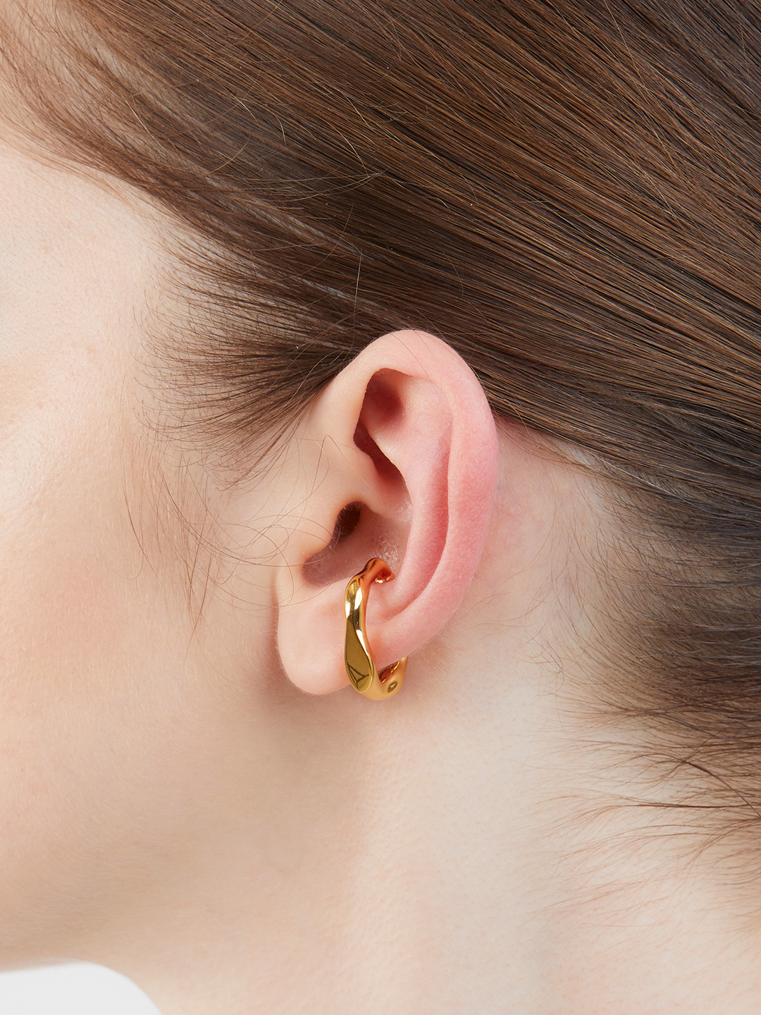 Castile Large Ear Cuff - Yellow Gold【MARIA BLACK+UNITED ARROWS】