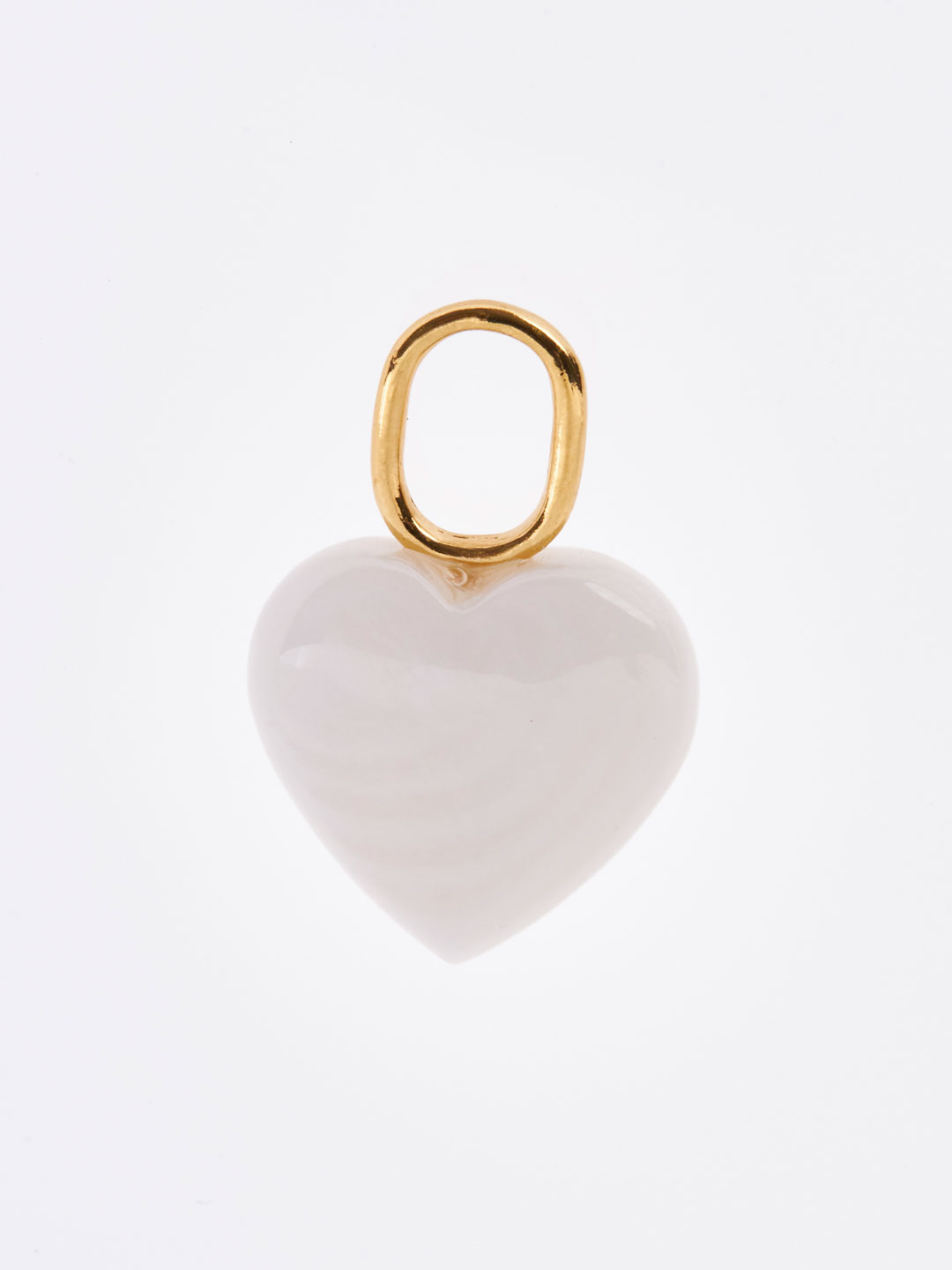 Mother Heart Charm - Yellow Gold