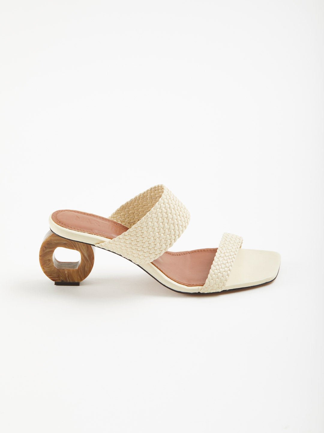Limon Heel Sandals - Offwhite